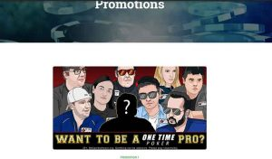 """OneTimePoker (OTP) Unveils """" Become A Pro"""" Promotion"""