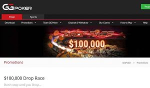 GGPoker to Launch $100,00 Drop Race on August 1
