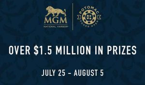 Potomac Poker Open (PPO) Returns to MGM National Harbor