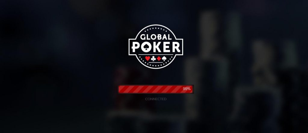 global poker loading screen