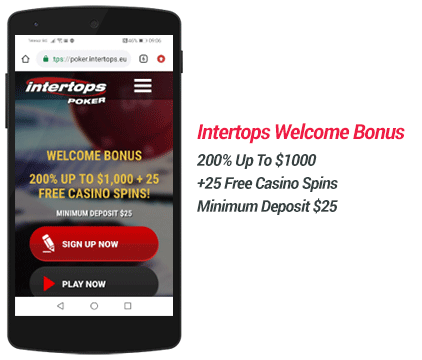 intertops-poker-welcome-bonus-offer