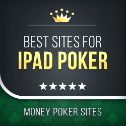 image of ipad poker sites